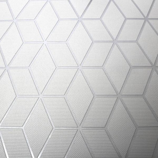 Tapeta geometryczna tłoczone wzory