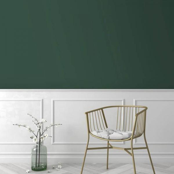 Tapeta w kolorze butelkowa zieleń na ścianę