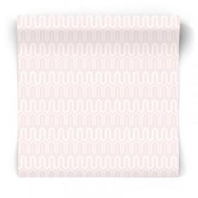 Różowa tapeta geometryczna GX37612