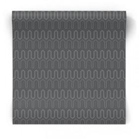 Ciemna tapeta geometryczna GX37614