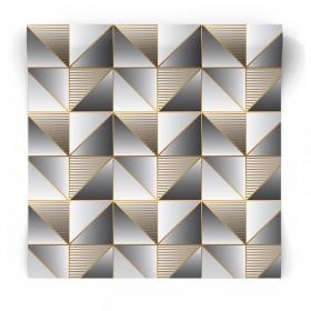 Tapeta złote geometryczne wzory GX37628
