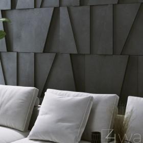 Panel ścienny 3D betonowy