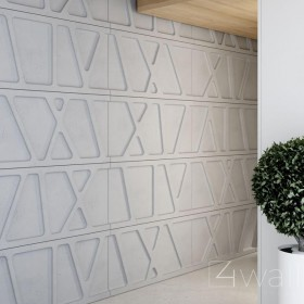Panel beton na ścianę 3D