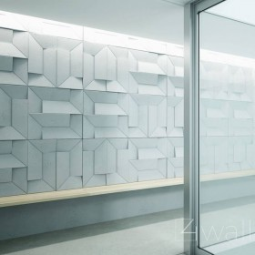 Panel ścienny z betonu na ścianę dekoracyjny