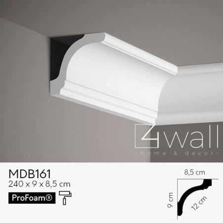 Listwa przypodłogowa biała MDB161