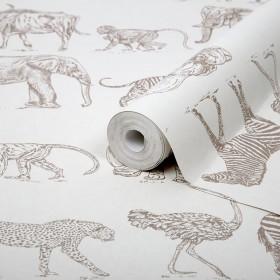 Dziecięca tapeta w zwierzęta