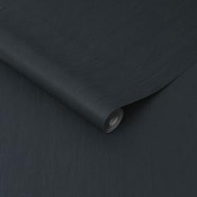 Tapeta czarna  grafitowa gładka 107008