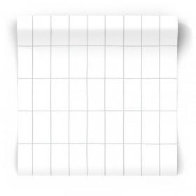 Geometryczna tapeta skandynawska 139029