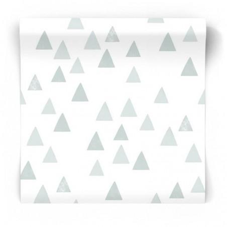 Tapeta dziecięca w skandynawskie trójkąty 139056
