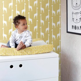 Dziecięca tapeta flizelina zmywalna