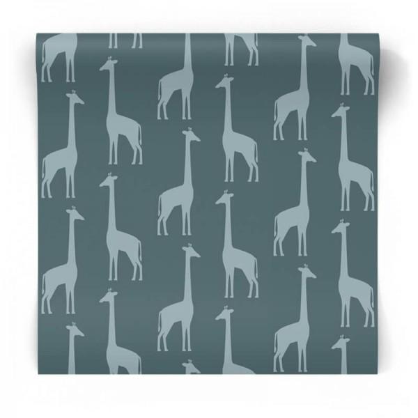 Tapeta na flizelinie dziecięca żyrafy 139061