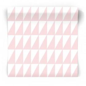 Geometryczna tapeta dziecięca 139076
