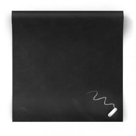 Tapeta czarna kredowa jak tablica 155005