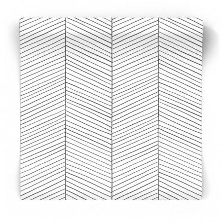 Tapeta jodełka geometryczna 139106