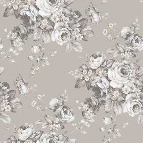 Tapeta ścienna w kwiaty