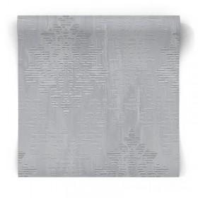Tapeta srebrno szara błyszcząca glamour W78181