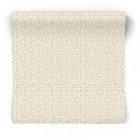 Tapeta beżowa złoty wzór glamour W78184