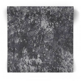 Czarno srebrna tapeta błyszcząca W78223