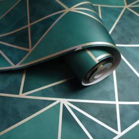 turkusowa geometryczna
