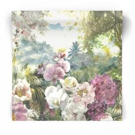 Fototapeta malowane kwiaty 99345