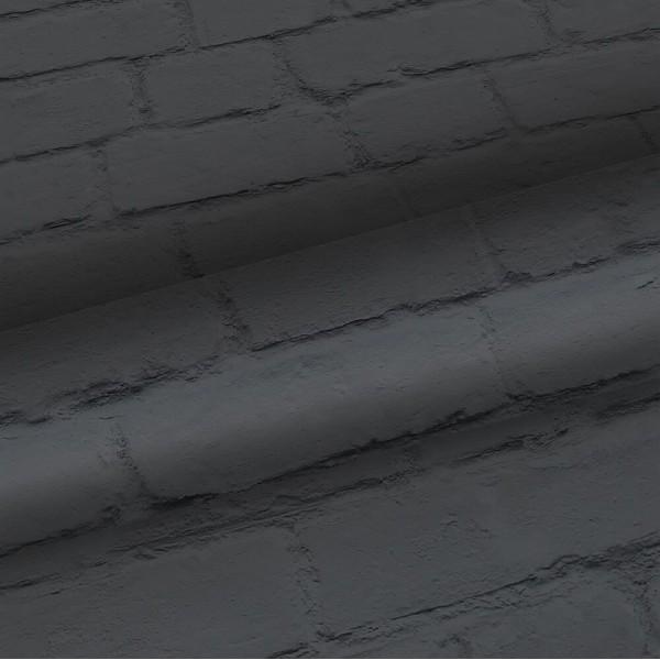 Tapeta grafitowa cegła 138535