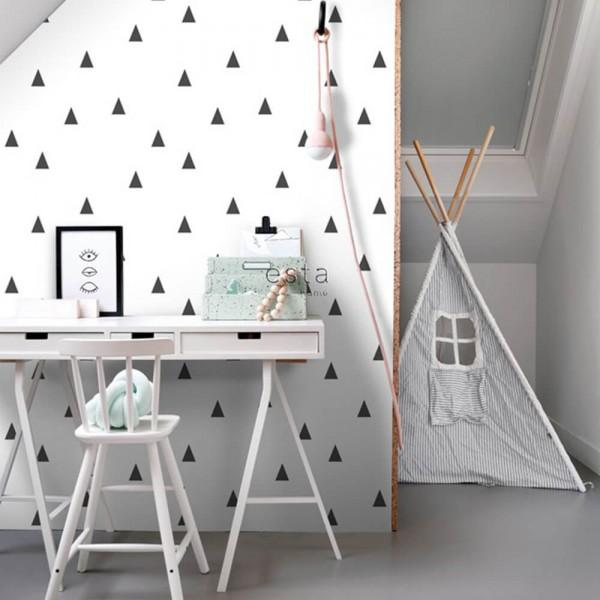 tapeta na ścianę geometryczna
