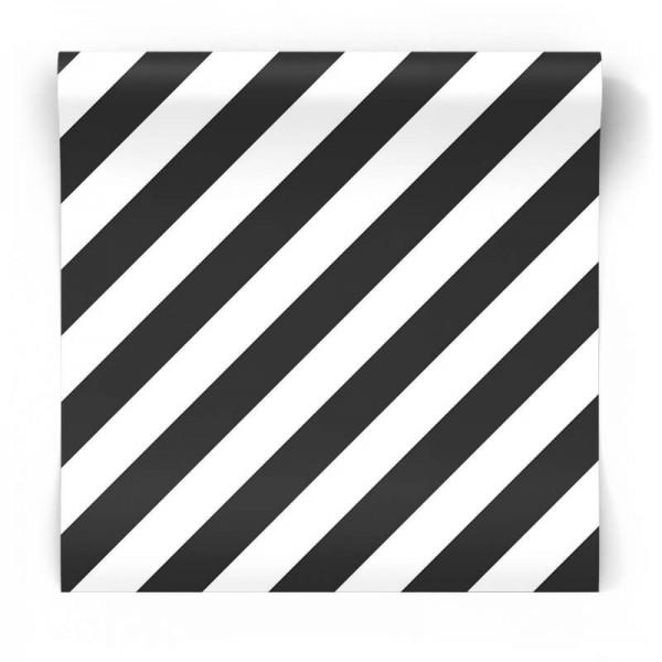 skośne pasy czano-białe tapeta