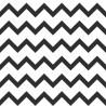 Tapeta czarno białę zygzaki