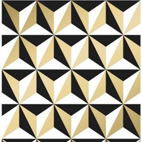 Nowoczesna tapeta geometryczna 3D