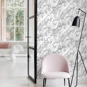 tapeta na ścianę imitująca marmur