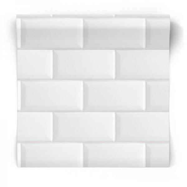białe kafelki