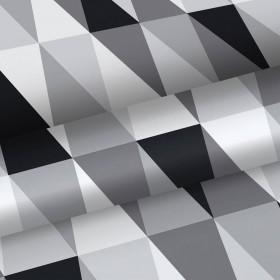 Nowoczesna tapeta czarno biała 139121 3D