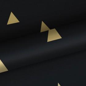 Czarna w złote trójkąty 139123 skandynawska