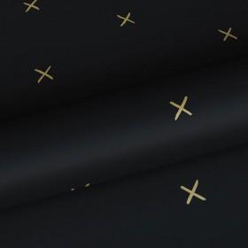 Czarna tapeta minialistyczna 139130
