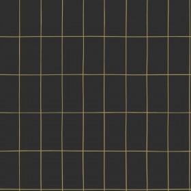 Tapeta czarna ze złotem w stylu skandynawskim