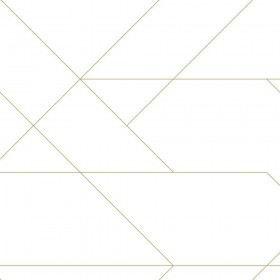 Tapeta geometryczna złota w linie