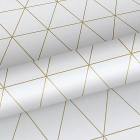 Tapeta w złote trójkąty 139147