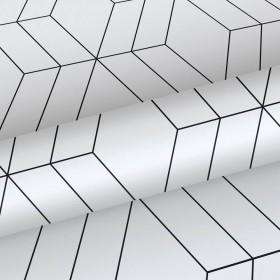 Czarno biała tapeta geometryczna 139149