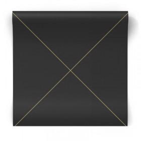 Czarna tapeta w złote linie 347719