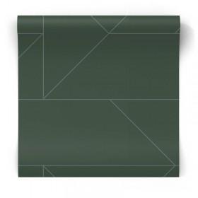 Zielona tapeta w linie 347728