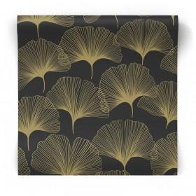 Czarno złota tapeta art deco 347734