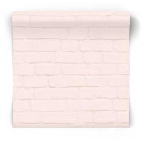 Tapeta różowa cegła