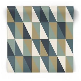 Tapeta w geometryczne trójkąty