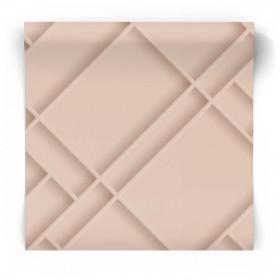 Fototapeta  geometryczna art deco różowa