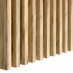 Lamele dąb wotan drewniane pionowe ścienne