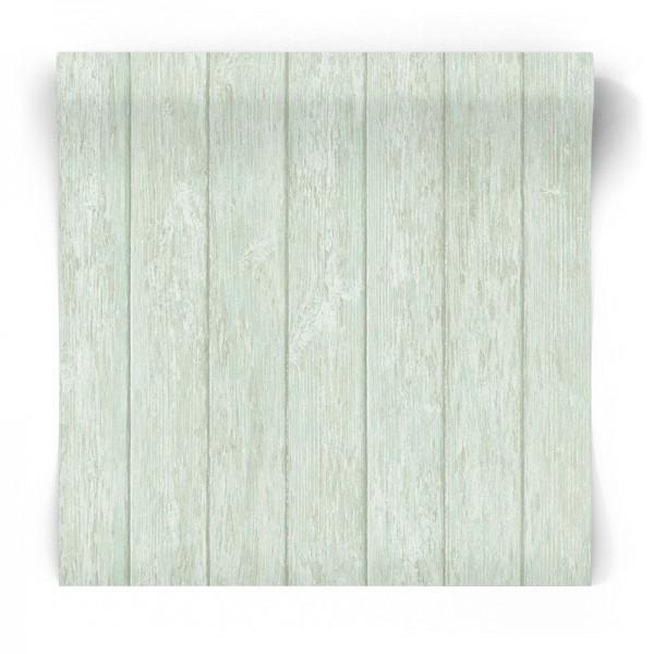 tapeta zielone deski G56442