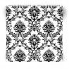 Tapeta w czarno biały ornament BK32013