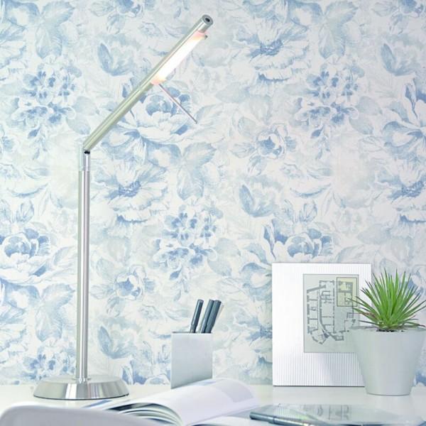 Tapeta w malowane kwiaty skandynawskie do salonu i sypialni