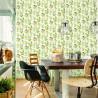 Zielona tapeta ścienna w kaktusy do kuchni i jadalni