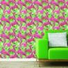 Tapety różowe flamingi - aranżacja salonu lub sypialni